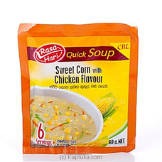 Rasa Hari Sweet Corn Soup 60g By Ceylon Biscuits Limited at Kapruka Online forspecialGifts