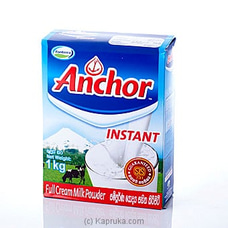 Anchor Instant Milk Powder 1kg By Anchor at Kapruka Online for specialGifts