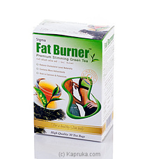 Sigma Fat Burner Green Tea 30 Tea Bagsat Kapruka Online for specialGifts