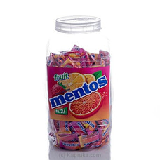 Mentos Fruit 200 Pcs Jar at Kapruka Online