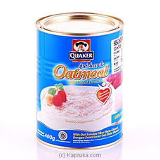 Quaker Oat Meal Cepat Dimasak 400g By Quaker at Kapruka Online for specialGifts