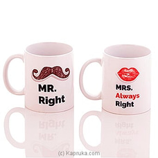 Mr & Mrs Mug at Kapruka Online