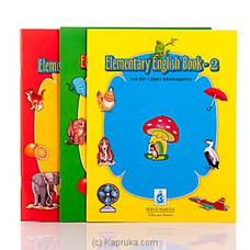 Elementary English By M.D Gunasena at Kapruka Online for specialGifts