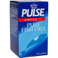 Pulse Pure Fish Oil Cap By Seven Seas at Kapruka Online for specialGifts