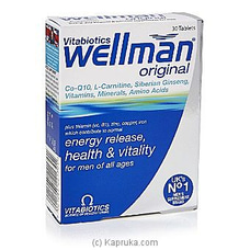 Wellman By Vitabiotics at Kapruka Online for specialGifts