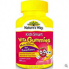 Natures Way Vita Gummies Fussy Eaters 60at Kapruka Online for specialGifts