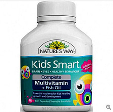 Natures Way Kids Smart Complete+Fishoilat Kapruka Online for specialGifts