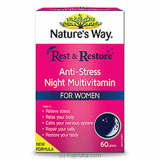Natures Way R&R Night Multivitamin Womenat Kapruka Online for specialGifts