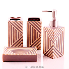 Ceramic Toiletries Gift Set By HABITAT ACCENT at Kapruka Online for specialGifts