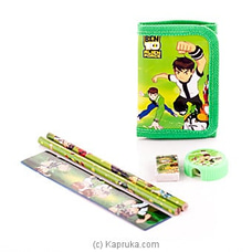 Ben 10 Kids Stationery Set By Brightmind at Kapruka Online for specialGifts