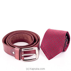 Tie With A Belt Gift Set By Stone N String at Kapruka Online for specialGifts