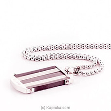 Silver Pendant With A Chain For Him By Stone N String at Kapruka Online for specialGifts