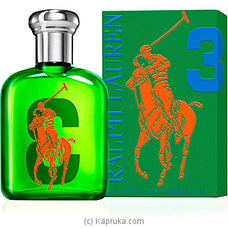 Big Pony Collection Ladies No3 75ml By RALPH LAUREN at Kapruka Online for specialGifts
