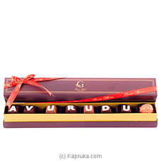 Avurudu 8 Piece Chocolate Box(GMC) By GMC at Kapruka Online for specialGifts