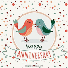 Anniversary Greeting Card at Kapruka Online