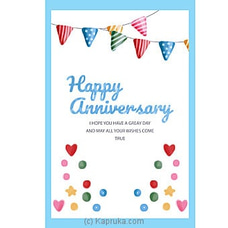Anniversary Greeting Cardat Kapruka Online for specialGifts