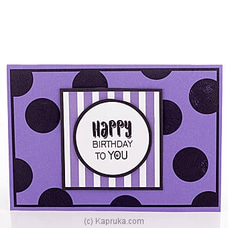 Happy Bday Boss Popup Greeting Card at Kapruka Online