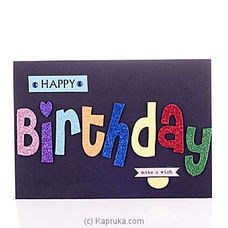 Piano Popup Bday Greeting Card at Kapruka Online