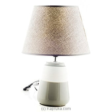 Ash Ceramic Table Lamp By HABITAT ACCENT at Kapruka Online forspecialGifts