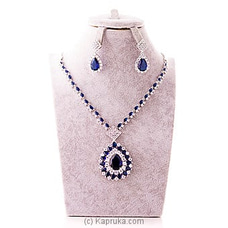 Cubic Zirconia Necklace & Earring at Kapruka Online