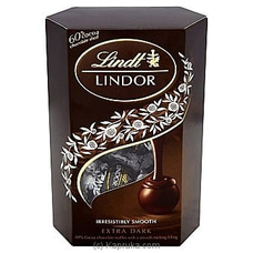 Lindt Lindor Extra Dark Chocolate - 200g By LINDT at Kapruka Online for specialGifts