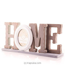 Sweet Home Photo Frame By HABITAT ACCENT at Kapruka Online for specialGifts