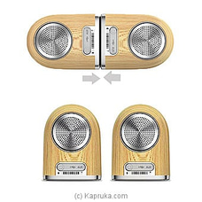 OVEVO Tango D10 Dual Magnetic Bluetooth Speaker By OVEVO at Kapruka Online for specialGifts