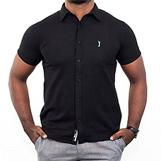 Hybrid Golf T-shirts Black With Blue Logo - By Urban Golf at Kapruka Online for specialGifts