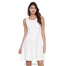 Avirate White Dress-US at Kapruka Online