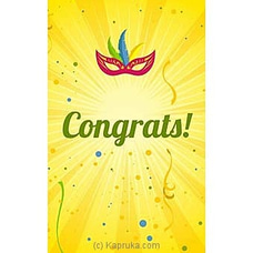 Congratulations Greeting Cardat Kapruka Online forspecialGifts