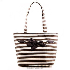Summer Time Brown Stripe Bag at Kapruka Online