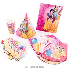 Disney Princess Kids Party Packat Kapruka Online for specialGifts