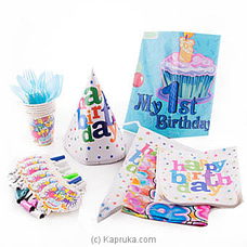 My 1st Birthday Kids Party Packat Kapruka Online for specialGifts