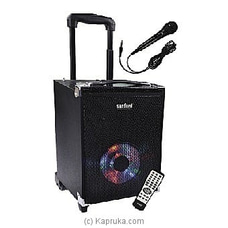 Sanford Rechargeable Trolley Speakers (SF-2261RTS) By Sanford at Kapruka Online for specialGifts