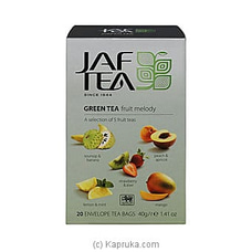 JAF TEA Pure Green Collection Green Tea Fruit Melody at Kapruka Online