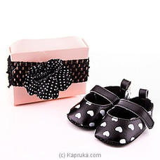 Style With Black Pair Of Shoes With Hair Band at Kapruka Online