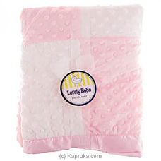 Infant Baby Blanket- Pink at Kapruka Online