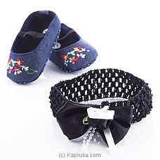 Infant Pair Of Shoes With Hairband at Kapruka Online