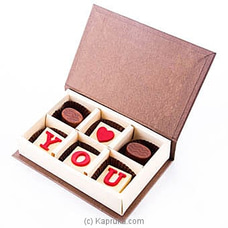 ` Love You` 6 Piece Chocolate Box(Java ) at Kapruka Online