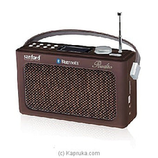 Sanford Portable Radio (SF3306PR) By Sanford at Kapruka Online forspecialGifts