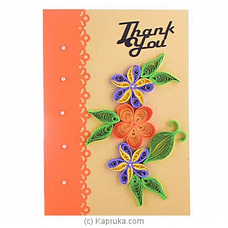 Handmade Thank You Greeting Card at Kapruka Online