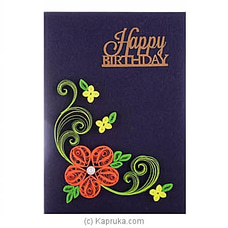 Handmade Birthday Greeting Card at Kapruka Online