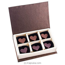 Heart Chocolates 06 Piece Box(Java ) By Java at Kapruka Online for specialGifts