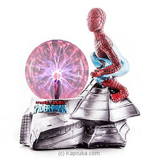 Spider Man In Action Plasma Ball By HABITAT ACCENT at Kapruka Online for specialGifts