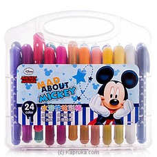 Mad About Mickey 24 Color Pens By Brightmind at Kapruka Online for specialGifts