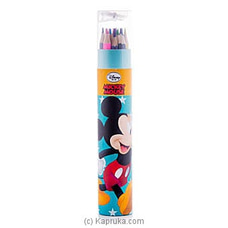 Mickey Mouse 12 Color Pencils at Kapruka Online