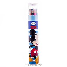 Mickey 12 Color Pencils at Kapruka Online
