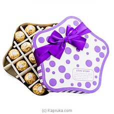 Love Story 18 Piece Ferrero Chocolate Box By Ferrero Rocher at Kapruka Online for specialGifts