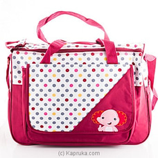 Baby Elephant Maroon Bag By FIRST SMILE at Kapruka Online for specialGifts