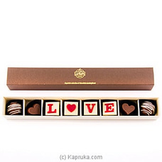 `Love` 8 Piece Chocolate Box(Java ) By Java at Kapruka Online for specialGifts